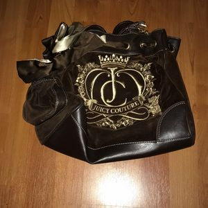 Juicy Couture large satchel in brown